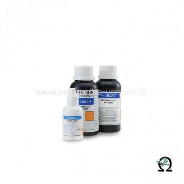 Reagenzien HI3850-100 für Hanna Testkit Ascorbinsäure 100 Tests
