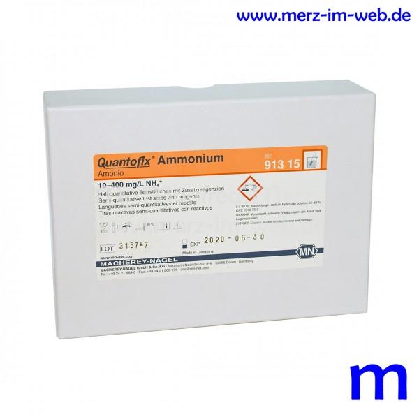 QUANTOFIX® Ammonium-Teststäbchen 100 Stück