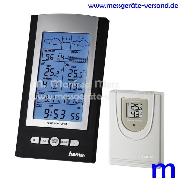 Hama Elektronische Wetterstation EWS-800