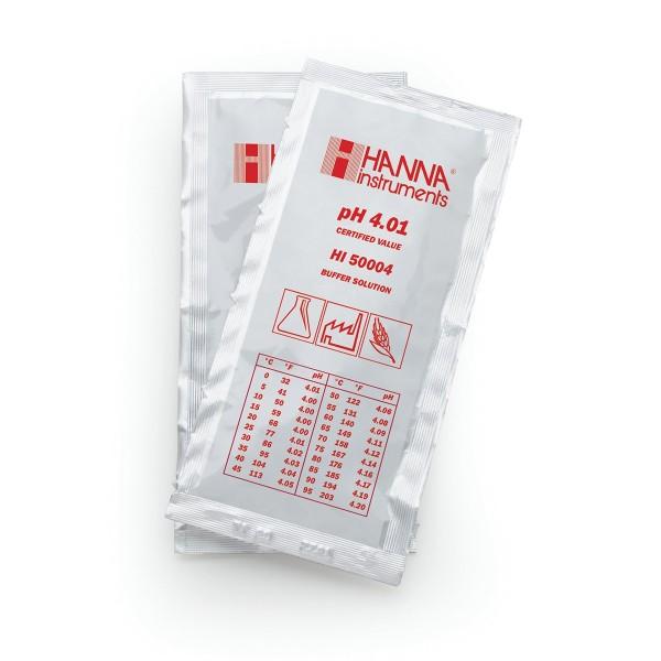 Hanna Pufferlösung HI50004 pH 4,01 Portionsbeutel