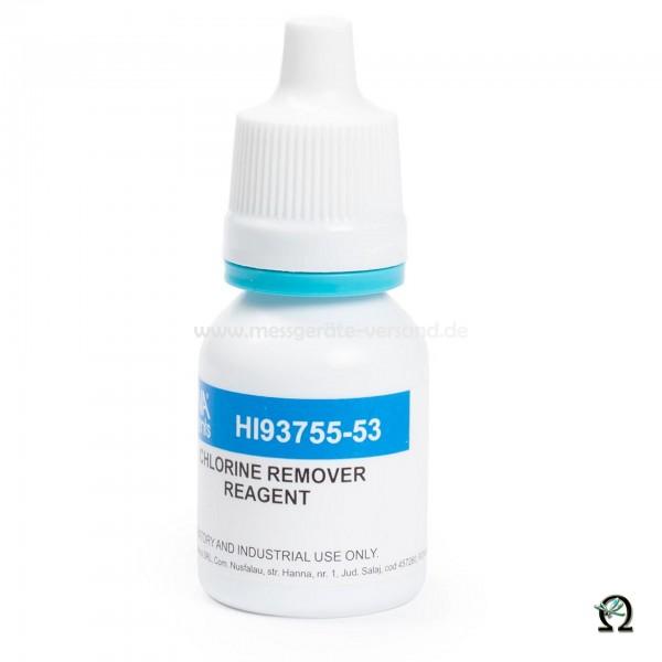 Reagenz HI93755-53 zur Entfernung von Chlor bei der Bestimmung der Süßwasseralkalinität