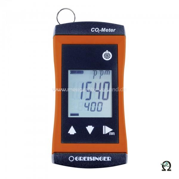 Greisinger CO₂ Monitor G 1910-02 mit integriertem Sensor und Alarm