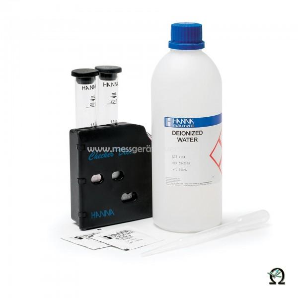 Hanna Testkit HI3875 Freies Chlor (0,0-3,5 mg/l) 100 Tests