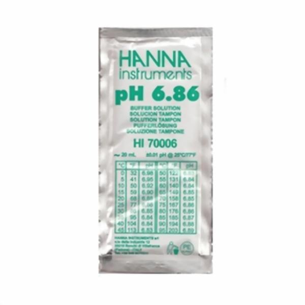 Hanna Pufferlösung HI70006 pH 6,86 Portionsbeutel