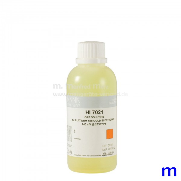 Hanna HI7021 Redox-Lösung 240 mV 230ml
