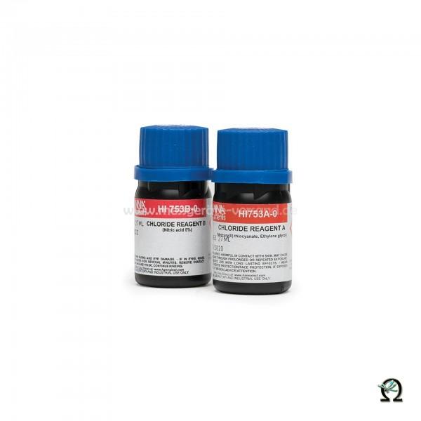 Reagenzien HI753-25 Chlorid 0,0 bis 20,0 mg/l (ppm)