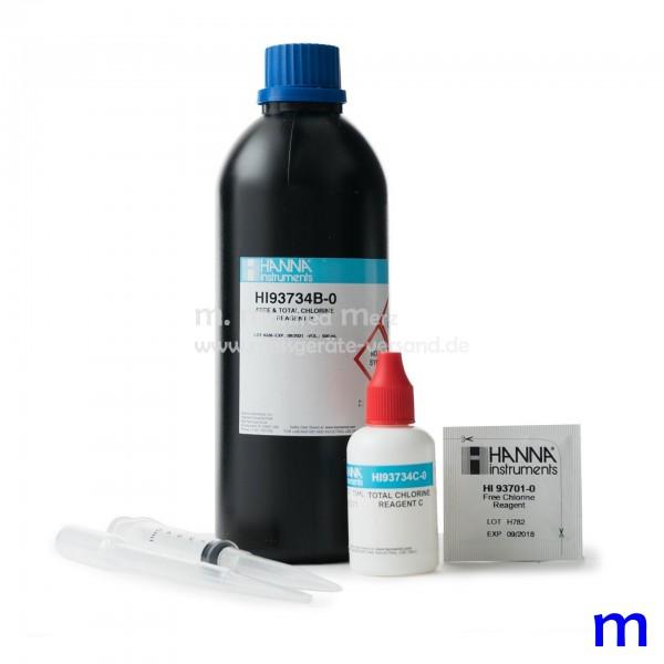 Reagenzien HI93734  Freies Chlor u. Gesamtchlor Hoch