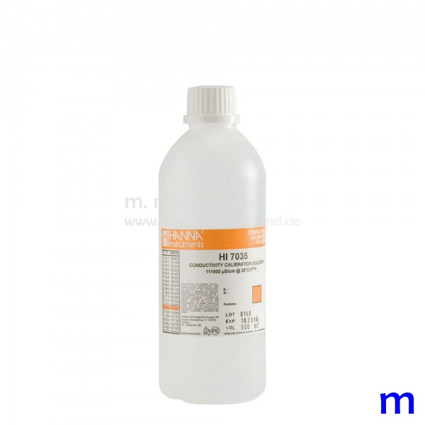 Hanna Leitfähigkeitslösung 111.800 µS/cm 500ml