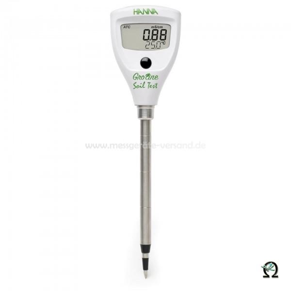 Gro Line Leitfähigkeits-/Temperatur-Tester f. Direktmessung im Boden