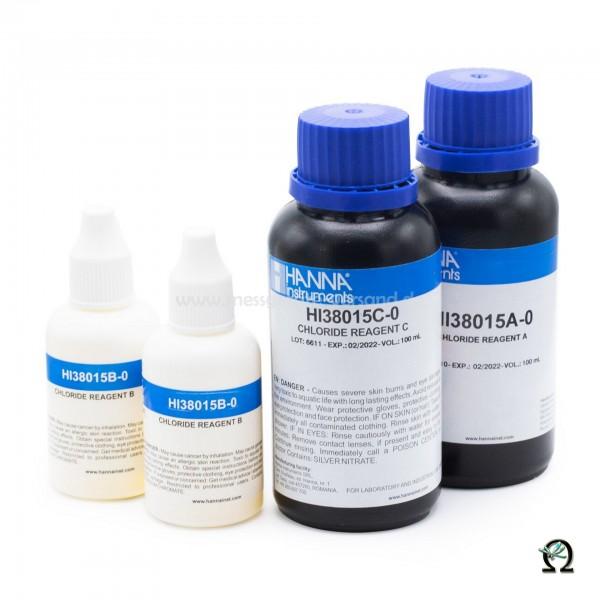 Hanna Reagenzien HI38015-100 für Testkit Chlorid