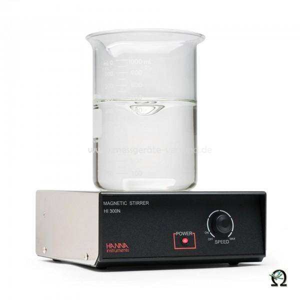 Hanna Magnetrührer HI300N Rührkapazität 2,5 Liter mit Edelstahl-Abdeckplatte
