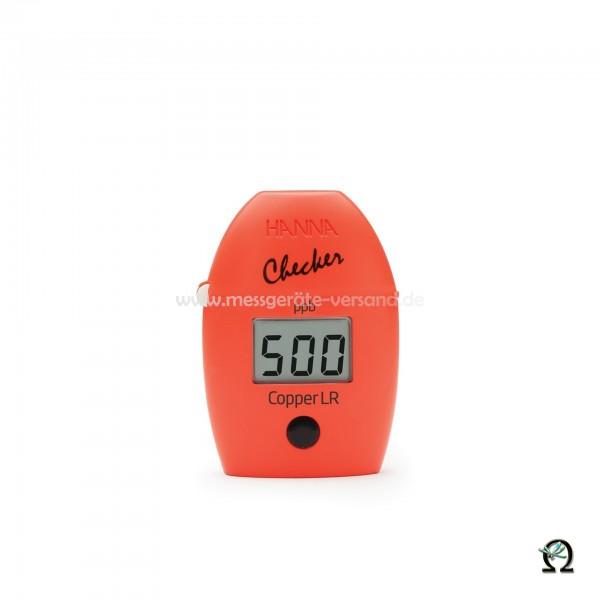Mini-Photometer Checker HI747 f. Kupfer Niedrig (0 bis 999 µg/l)
