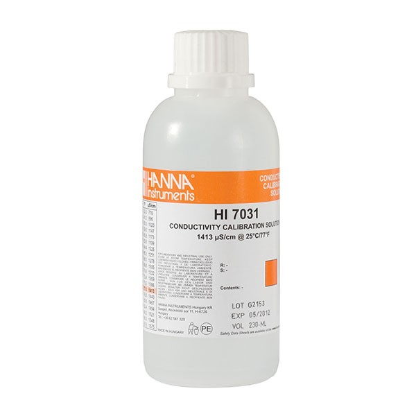 Hanna EC-Kalibrierlösung HI7031 1413 µS/cm 230 ml