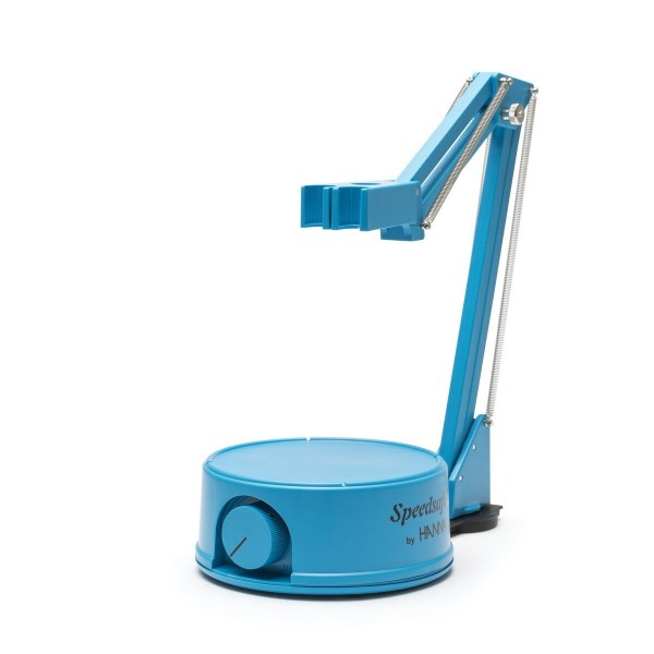 Hanna Mini-Magnetrührer HI181 230 Volt mit Elektrodenhalter, blaues Geäuse