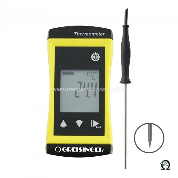 Universalthermometer Greisinger G 1730 m. Einstechfühler Ø 1,5mm