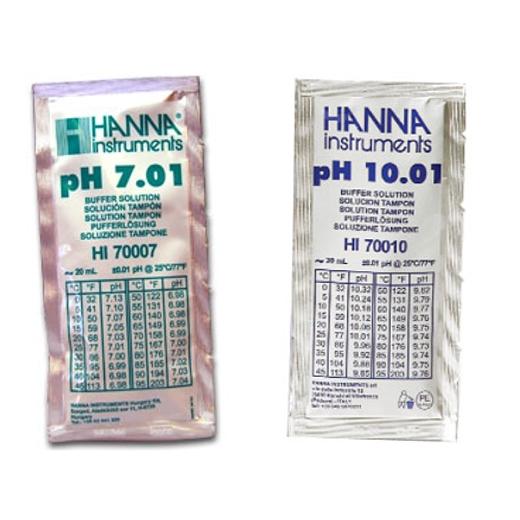 Hanna pH-Kalibrierkit pH 7,01 und pH 10,01