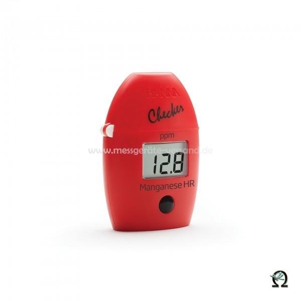 Mini-Photometer Checker HI709 f. Mangan Hoch (0,0 bis 20,0 mg/l)