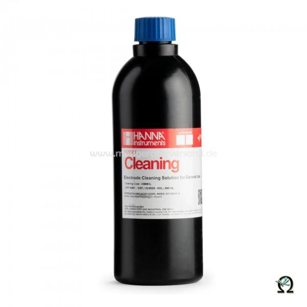 Allgemeine Reinigungslösung HI8061 für Elektroden in FDA-Flasche