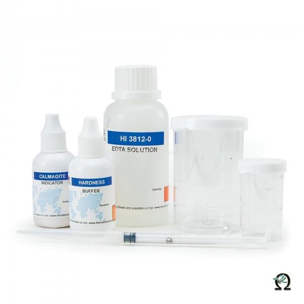 Hanna Testkit HI3812 Gesamthärte (0-30 mg/l; 0-300mg/l) 100 Tests