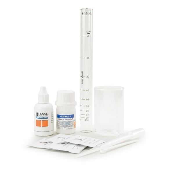Testkit HI38000 für Sulfat 20-100 mg/l (ppm) 100 Tests