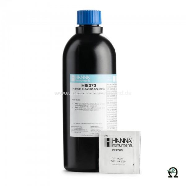 Elektrodenreinigungslösung HI8073 Anwendung Proteine in FDA-Flasche