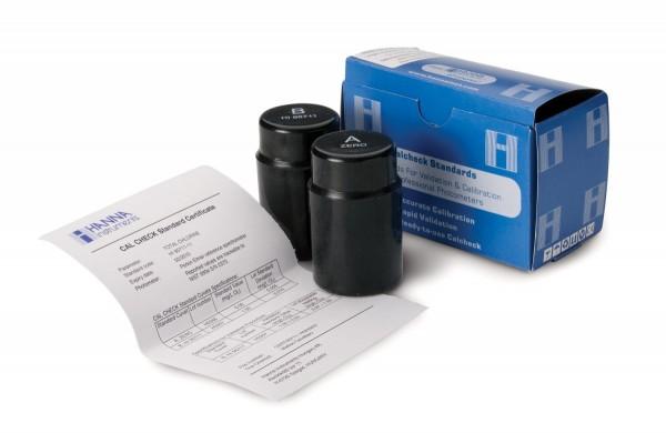 Kalibrierstandard HI97762-11 CAL CHECK Freies Chlor Ultraniedrig