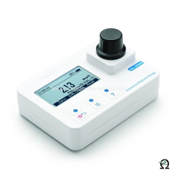 Kompakt-Photometer HI97715 für Ammonium Mittel 0,00-10,00 mg/l