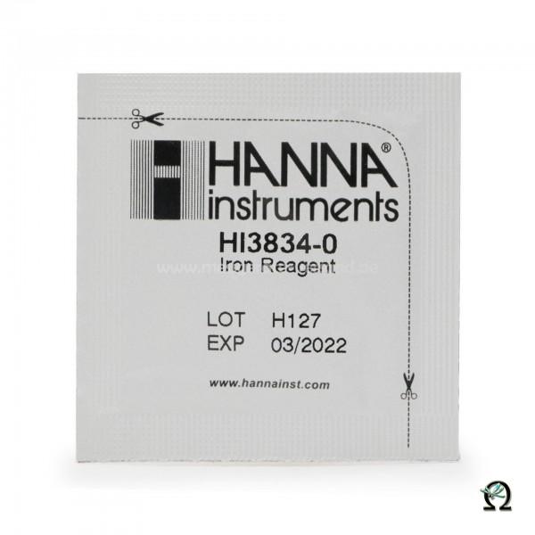 Reagenzien HI38040-100 für Hanna Checker Disc Testkit Eisen mittlerer Bereich 100 Tests