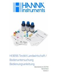 Die Gebrauchsanweisung für den Hanna QUICK Soiltest HI3896 zum Herunterladen und ausdrucken