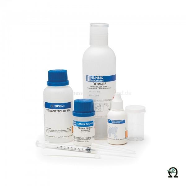Hanna Testkit HI3838 Formaldehyd (0,00-1,00 %; 0,0-10,0 %) 110 Tests