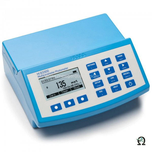 Hanna Multiparameter-Photometer HI83300 mit pH-Analyse