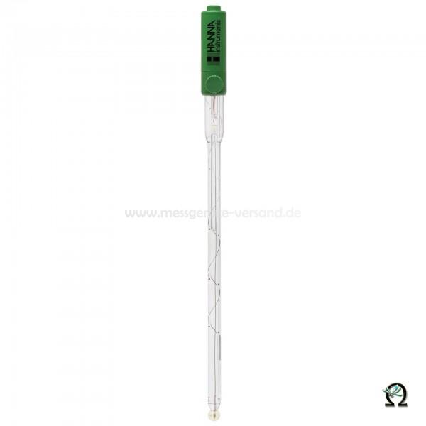 Hanna Kombinierte pH-Elektrode HI1331B Glas 1faches Diaphragma, nachfüllbar mit BNC-Anschluss